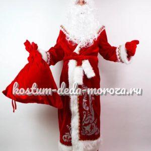Костюм Деда Мороза С Аппликацией