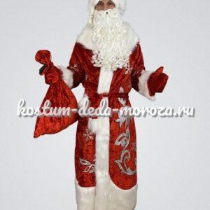 Костюм Деда Мороза Боярский Люкс