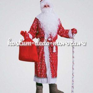 Костюм Деда Мороза Звездный