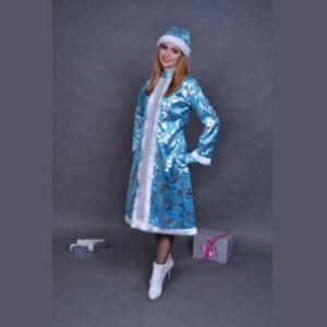 Костюм Снегурочки Велюровый