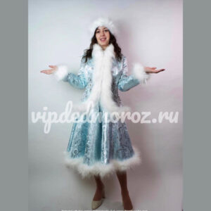 Костюм Снегурочки Эксклюзивный ручная работа