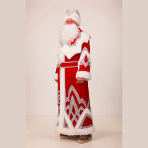 Костюм Деда Мороза Вышивка