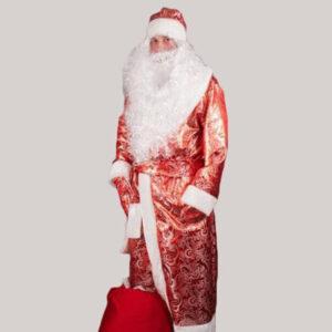 Костюм Деда Мороза Золотой