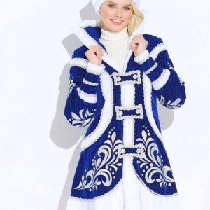 Костюм Снегурочки Купеческая синяя